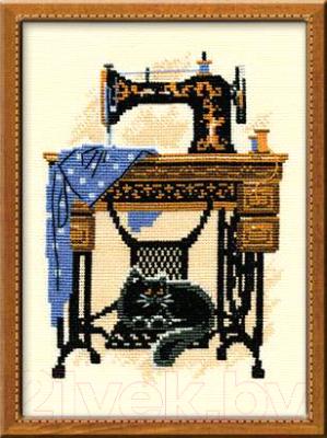 Набор для вышивания Риолис Швейная машинка / 857