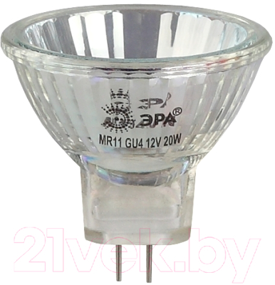 Лампа ЭРА, GU4-MR11-35W-12V-30CL / C0027362