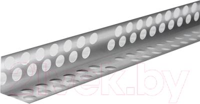 Уголок штукатурный Profigips Перфорированный алюминиевый 70x19x2500