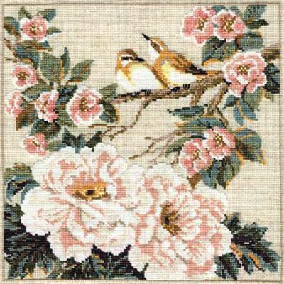 Набор для вышивания Риолис Китайские мотивы. Весна / 486