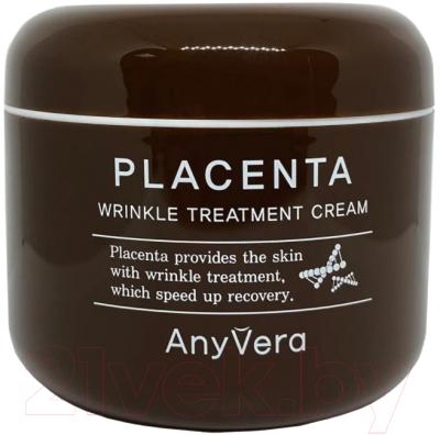 Крем для лица Cellio Anyvera Cream Placenta Омолаживающий с экстрактом плаценты недорого