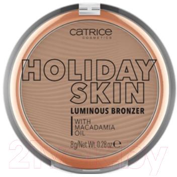 Бронзер Catrice Holiday Skin Luminous Bronzer тон 010
