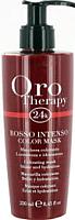 Тонирующая маска для волос Fanola Oro Therapy 24k увлажняющая насыщенный красный (250мл) -
