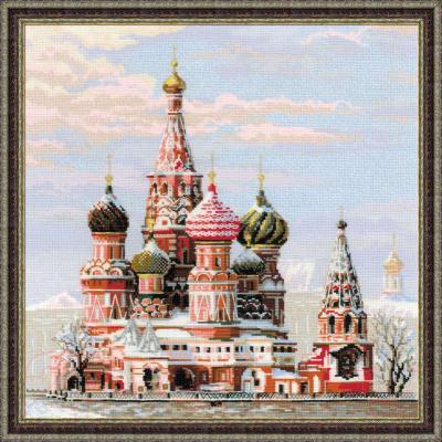 Набор для вышивания Риолис Москва, Собор Василия Блаженного / 1260
