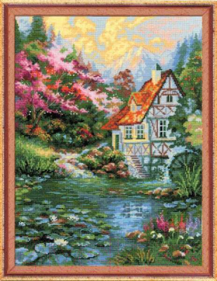 Набор для вышивания Риолис Водяная мельница / 1394
