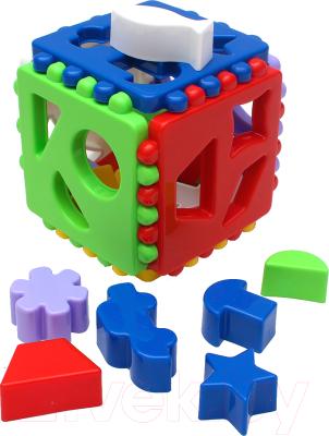 Фото - Развивающая игра РЫЖИЙ КОТ Логический куб Большой / RC-И-3929 развивающая игра рыжий кот игры с маркером развиваем логику и мышление
