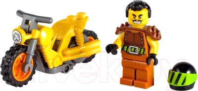 Конструктор Lego City Разрушительный трюковый мотоцикл 60297