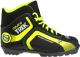 Ботинки для беговых лыж TREK Omni NNN (черный/лайм, р-р 41) -