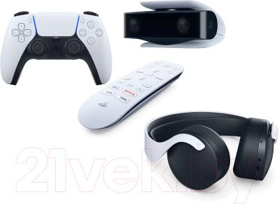 Комплект устройств для игровой приставки Sony DualSense+Media Remote+камера для PS5+Pulse 3D Wireless Headset