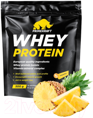 Протеин Prime Kraft Whey Ананасовый фреш