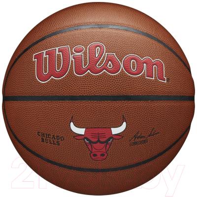 Баскетбольный мяч Wilson NBA Chicago Bulls / WTB3100XBCHI