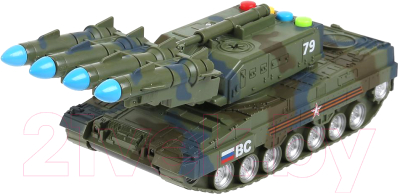 Ракетная установка игрушечная Технопарк Ракетная установка / ZY1006382-R