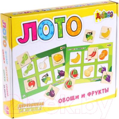 Развивающая игра Анданте Дютоша. Овощи и фрукты / AN-RDI-D704a развивающая игра домино пазлы читазлы фрукты овощи и ягоды 4