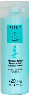 Шампунь для волос Kaaral Hydra Shampoo увлажняющий для сухих волос (100мл)