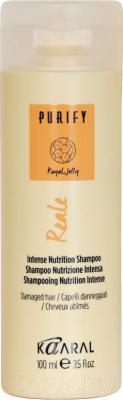 Шампунь для волос Kaaral Reale Shampoo восстанавливающий шампунь для поврежденных волос (100мл)