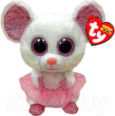 Мягкая игрушка TY Мышка-балерина Nina 15 см / 36365