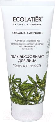 Скраб для лица Ecolatier Green Cannabis Гель-Эксфолиант гель эксфолиант пилинг monochrome 02 pre 110мл