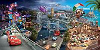 Фотообои Citydecor Тачки панорама (300x150) -