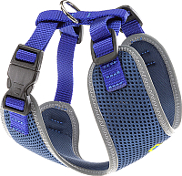 Шлея-жилетка для животных Ferplast Nikita P (XS, синий) -