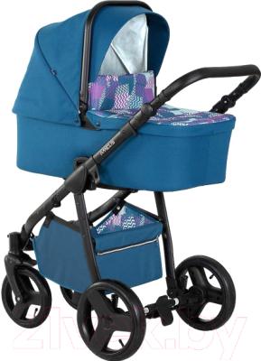 Детская универсальная коляска Noordline Amelis Muki QBIQ (Black Air)