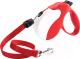 Поводок-рулетка Ferplast Amigo Long Cord 75740022 (красный/белый) -