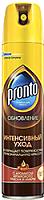 Полироль Pronto Интенсивный уход с ароматом арганового масла и амбры для мебели (250мл) -