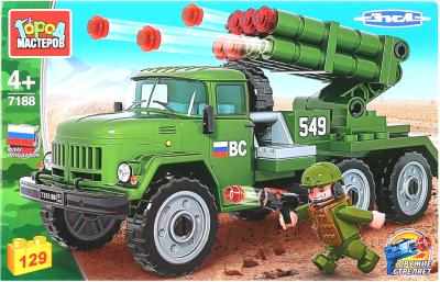 Конструктор Город мастеров Армия: ЗИЛ ракетная установка / 7188-KK