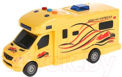 Трейлер игрушечный Технопарк Дом на колесах / 1911A063-R
