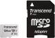 Карта памяти Transcend microSDXC 300S 128GB Class 10 UHS-I U3 (TS128GUSD300S-A) -