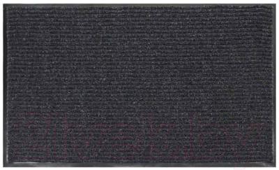 Коврик грязезащитный No Brand Ребристый 50x80 (серый)