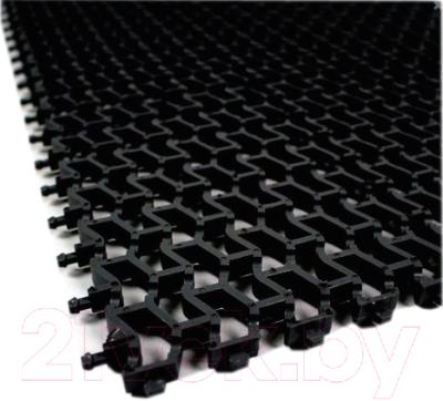 Коврик грязезащитный No Brand Пила 61x43 (черный)