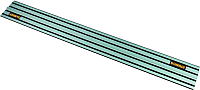 Направляющая шина DeWalt DWS5023-XJ -