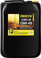 Моторное масло Prista Ultra TD 10W40 / P060288 (20л) -