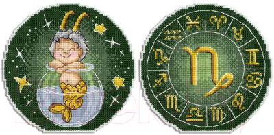 Набор для вышивания М.П.Студия Знаки Зодиака. Козерог / Р-704М