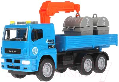 Погрузчик игрушечный Технопарк Камаз Манипулятор / KAMCRN-28PLCN-BU
