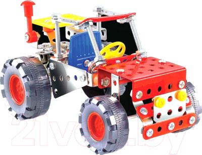 Конструктор Unicon Металекс Трактор 4 в 1 / 2424071
