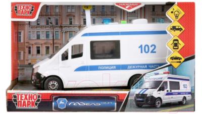 Автомобиль игрушечный Технопарк Газель Некст Полиция / NEXTVAN-22PLPOL-WH