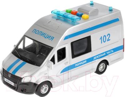 Автомобиль игрушечный Технопарк Ford Transit Полиция / TRANSITVAN-22PLPOL-SR