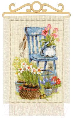Набор для вышивания Риолис Дача, Весна / 1656