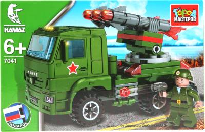 Конструктор Город мастеров Камаз: Ракетная установка / KK-7041-R