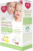Набор для ухода за полостью рта Splat Baby 0-3 лет зубная паста яблоко-банан 40мл+зубная щетка силикон -