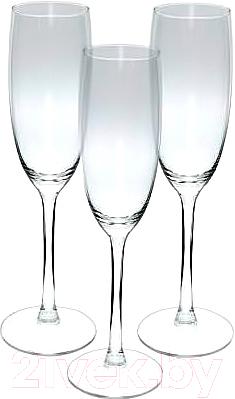 Фото - Набор бокалов Luminarc Signature J9756 luminarc набор фужеров для шампанского signature 3 шт 170 мл j9756