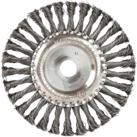 Щетка для электроинструмента PATRIOT Edge 150ммx22.23мм (круглая/витая) -