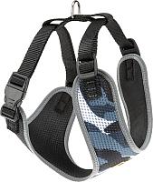 Шлея-жилетка для животных Ferplast Nikita Fashion P (XS, серый) -
