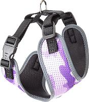 Шлея-жилетка для животных Ferplast Nikita Fashion P (XS, фиолетовый) -