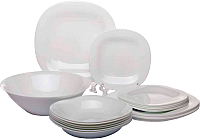 Набор тарелок Luminarc Carine white N2185 -