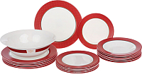 Набор тарелок Luminarc Alto rubis N8520 -
