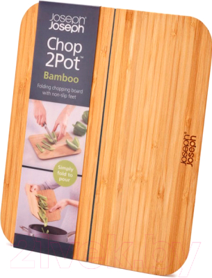 Разделочная доска Joseph Joseph Chop2Pot Bamboo 60111