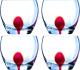 Набор стаканов Luminarc Drip red E5171 -