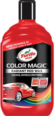 Полироль для кузова Turtle Wax Radiant Red Wax FG8313 / 52711 turtle wax полироль для кузова renew polish 0 5 л